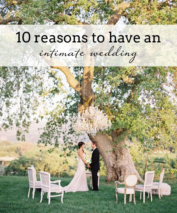 10 Reasons to Have a Smaller Wedding; Reason 3: It's Eco Friendly!   SouthBound Bride