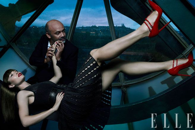 Fot. Thomas Whiteside, Jessica Biel for ElleUS #Elle