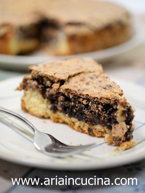 Blog di cucina di Aria: Torta in crosta di mandorle