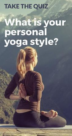 There are so many different types of #yoga to chose from. Each practice is so different. Take my #quiz to decide which type of yoga to practice today.