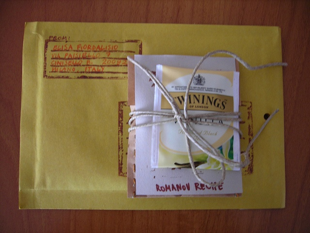thank you goodie with tea -  by Romanov Recipe, via Flickr