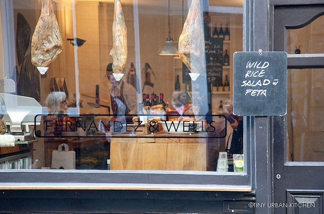 Fernandez & Wells - Tiny Urban Kitchen place to try in london