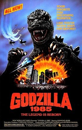 Godzilla 1985 the US release of 1984 Japanese film Godzilla and was set as a sequel to Raymond Burr's Godzilla, King of Monsters