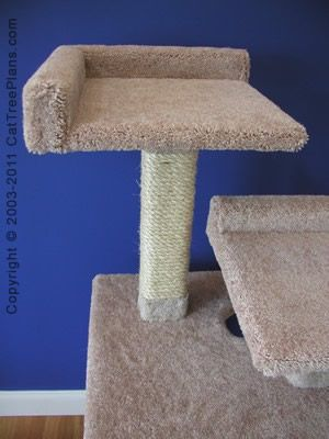 1000 ideas about cat tree plans on pinterest cat trees for Build your own cat scratch tower