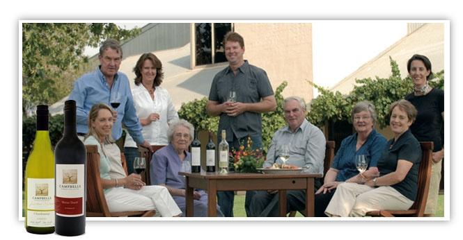 Campbells Wines - Member of Australia's First Families of Wine, http://www.australiasfirstfamiliesofwine.com.au