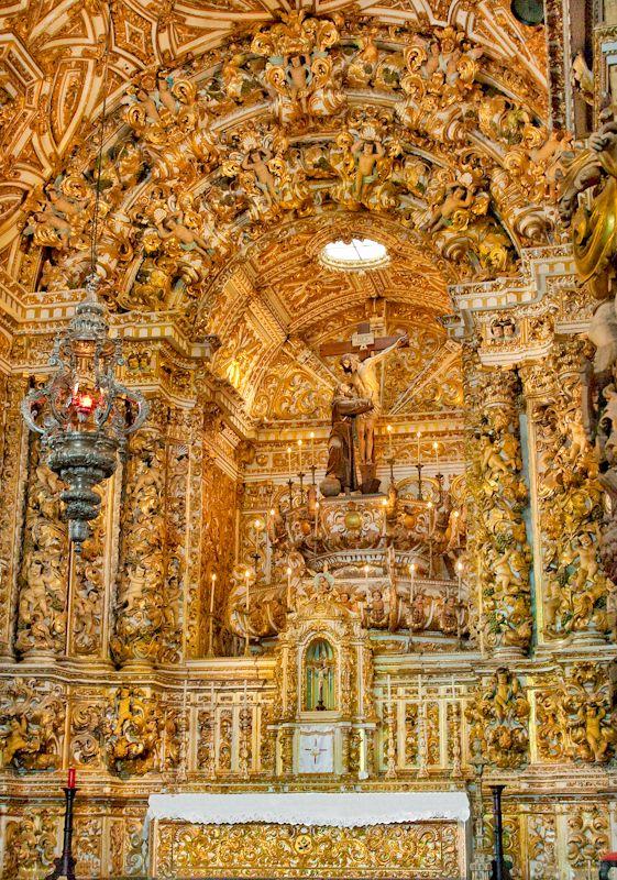 Igreja da Ordem Terceira de São Francisco, Salvador, Bahia, Brazil