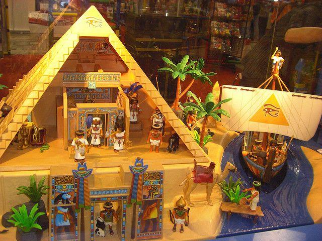 1000 images about egyptomania toys on pinterest - Playmobil egyptien ...
