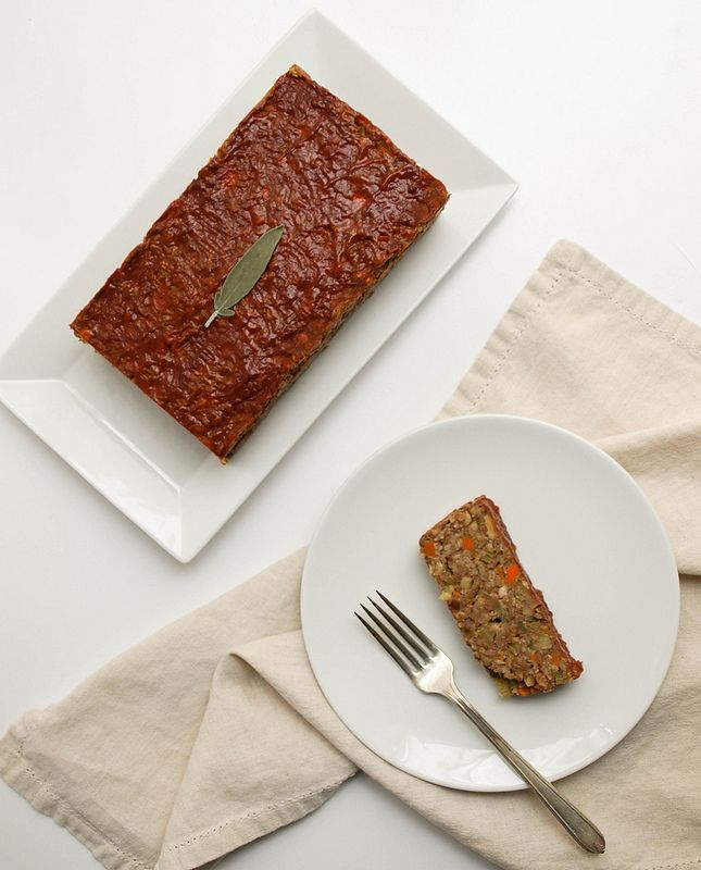 APPLE, FENNEL + SAGE LENTIL LOAF | Vegan Entrees | Pinterest | Lentil ...