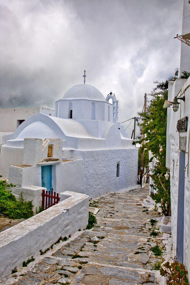 Church in Hora, Amorgos, Greece