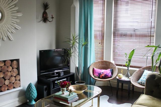 Ikea Turquoise Velvet Curtains Living Pinterest