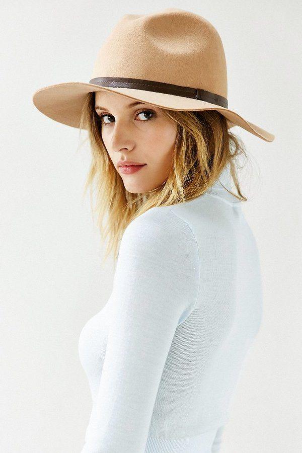 Ecote Scout Panama Hat // As seen on Selena Gomez at Coachella Music Festival on April 11, 2014.