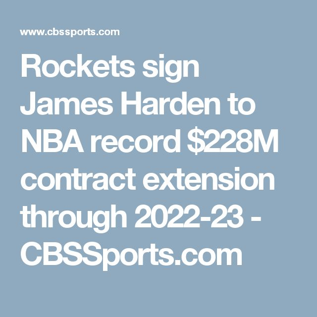 Rockets sign James Harden to NBA record $228M contract extensio   n through 2022-23 - CBSSports.com   https://www.yellowpages.com/philadelphia-pa/mip/megan-medical-uscis-services-536115226