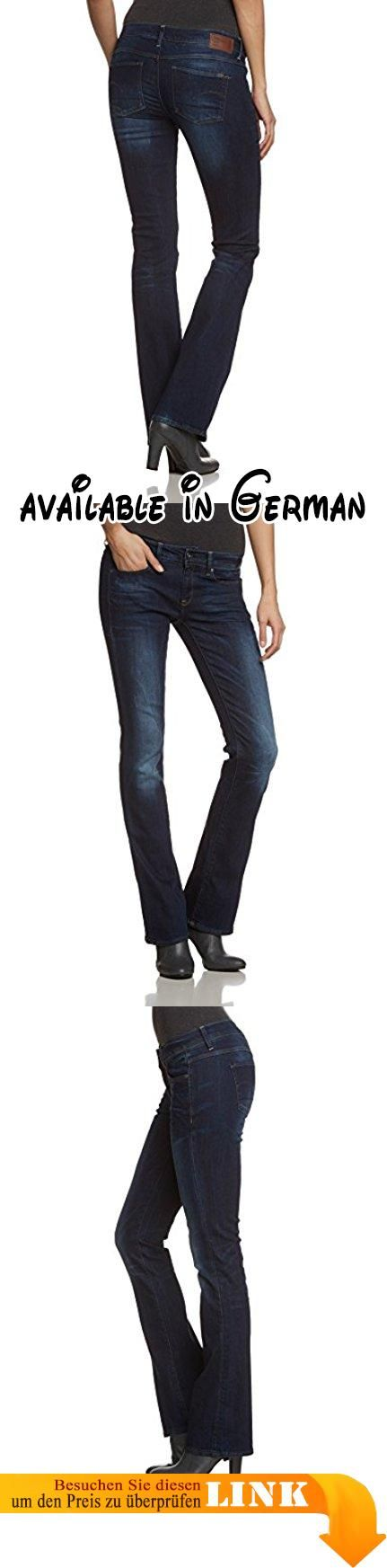 G-STAR Damen Jeanshose 3301 Mid Bootleg Wmn - neutro stretch denim, Gr. W26/L32, Blau (dk aged 6553-89). Die G-Star 3301 ist eine stilneutrale Jeans mit klassischem 5-Pocket-Schnitt. Auf ihre reine Form reduziert, kombiniert diese essentielle Jeans authentische Details mit purem Styling.Die [PN] ist aus kompaktem Denim mit blau-schwarzem Basiston und super Stretch gefertigt.92% Baumwolle, 7% Polyester, 1% ElastanMit dunklen, verblichenen Stellen, die diesem Kleidungsstück