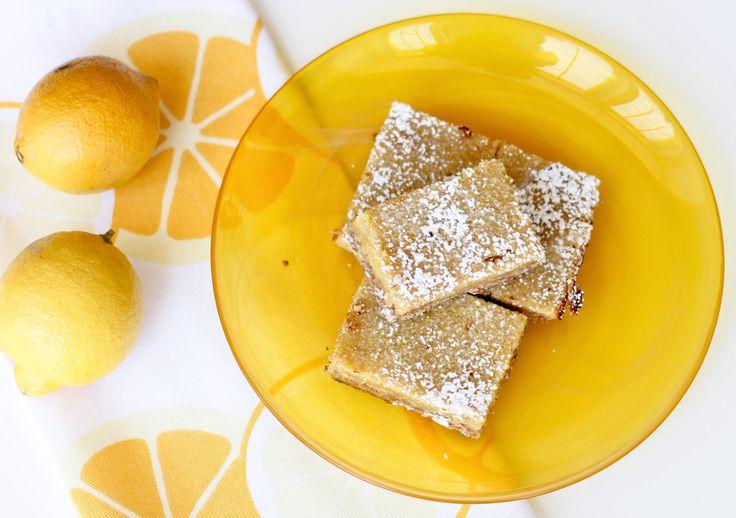 Lemon Bars (Gluten Free) via Make it Naked #dineinfreshFree Desserts, Bar Gluten, Lemon Bars, S'More Bar, S'Mores Bar, Food, Free Lemon, Yummy, Gluten Free