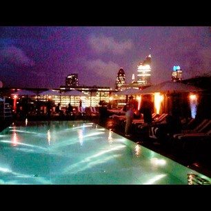 WOW! check out the view from Shoreditch house!