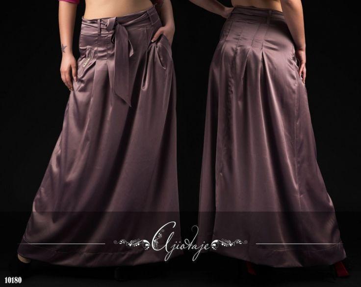 Длинные юбки атласные