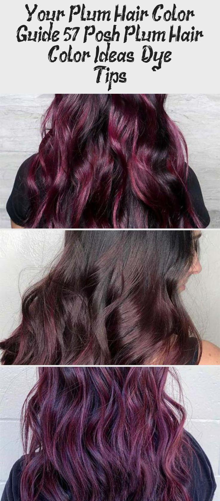 Your Plum Hair Color Guide 57 Posh Plum Hair Color Ideas