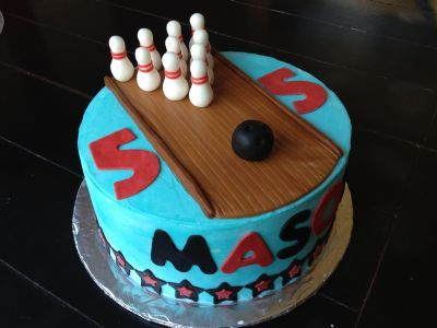 1000 Images About Bowling Cakes On Pinterest