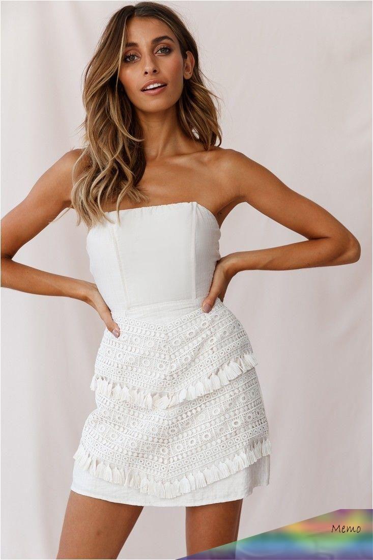 May 4, 2020 - Shop the Cece Embellished Bandeau Dress ...