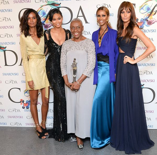 Bethann Hardison and the beauties