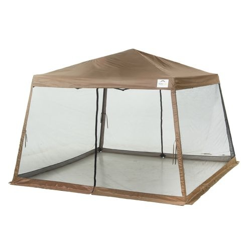 Shelterlogic Sport Series Slant Leg 12 X 12 Pop Up Canopy With Screen Insert Screen Tent Camping Canopy House Tent