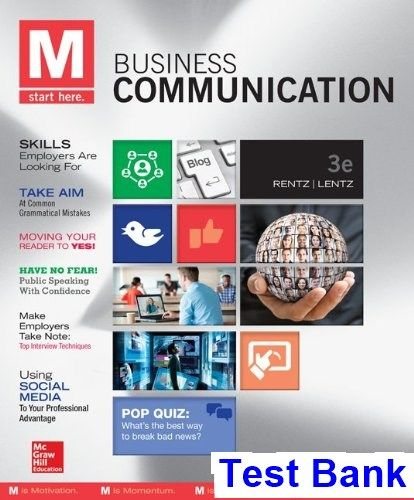 50 best test bank download images on pinterest banks business and key m business communication 3rd edition rentz test bank test bank solutions manual exam fandeluxe Images
