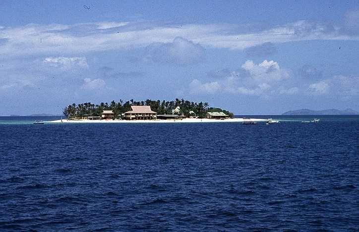Beachcomber Island - Fidschi –