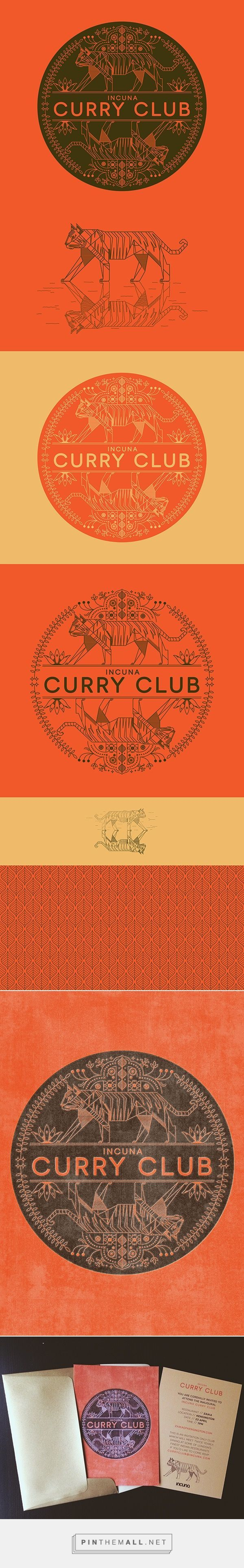 "a bit busy, but anything with ""curry"" in it is automatically DOPE!!! >> Tiger on Behance - created via http://pinthemall.net"