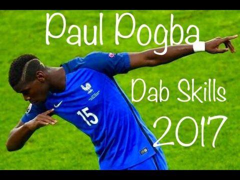 Paul Pogba Dab Skills HD 2017 - YouTube