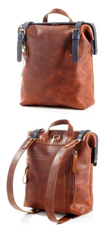 69bd45a33e Leather back pack