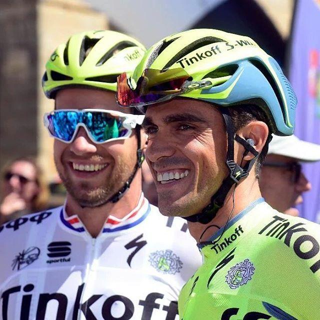 Vuelta a Burgos 2016 Alberto Contador Adam Blythe