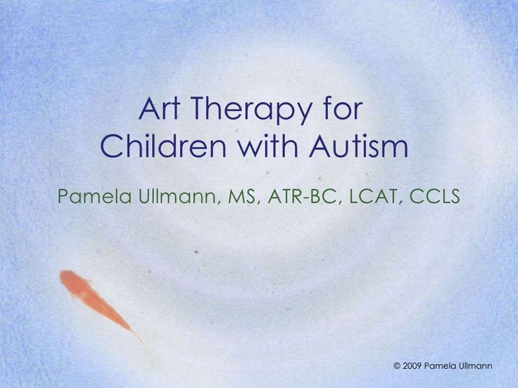 Art Therapy for Children with Autism | Pamela Ullmann, Art Therapist