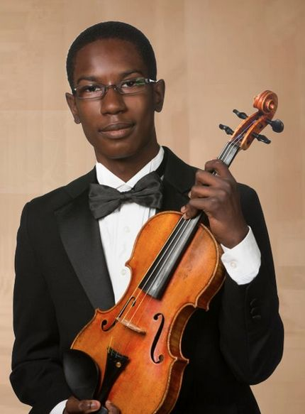 Andrew Koonce, 15,  is a talented African American violinist from Atlanta. His list of awards and titles are impressive. As an eighth grader, he ranked first place at the Heritage Music Festival in Florida, winning the Maestro Award for best solo.