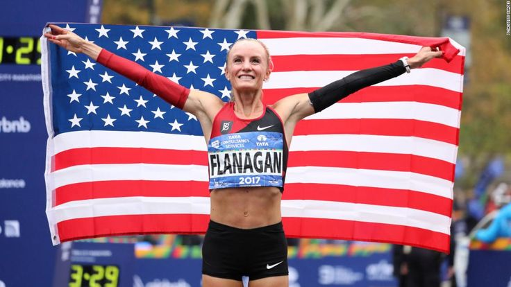 It's been a long time running -- four decades to be exact -- since an American woman broke the finish line tape at the New York City Marathon, but Olympic medalist Shalane Flanagan did just that on Sunday.