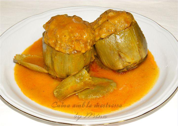 Cuina amb la mestressa: Alcachofas rellenas