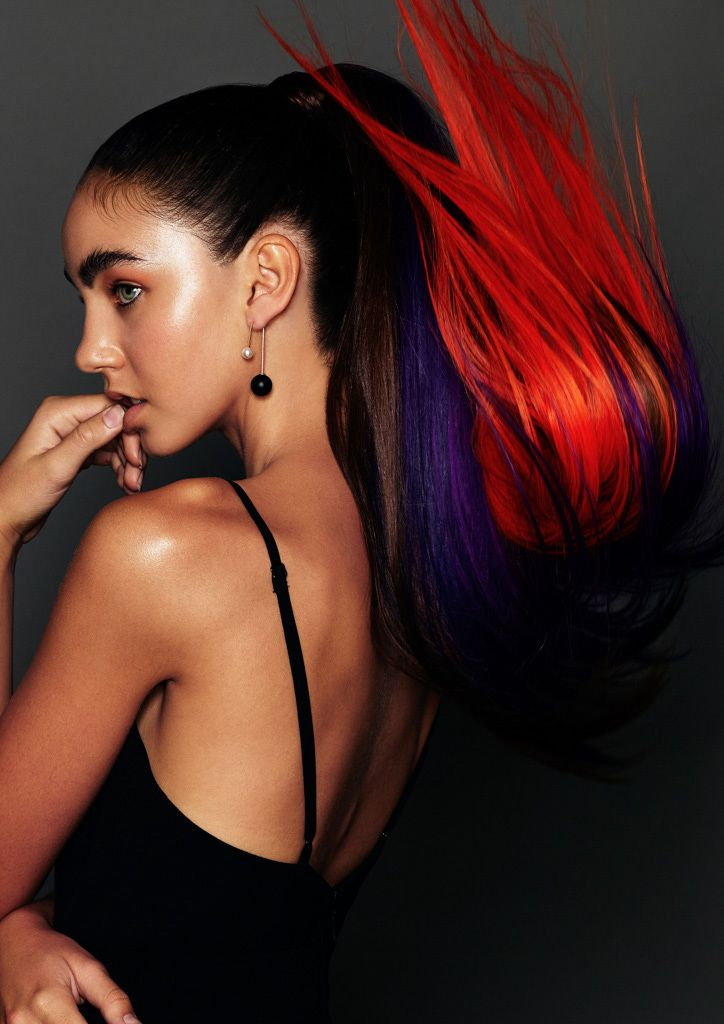 Haare: Cherie Falco @ Kinky Curly Straight ::: Foto: Karla Majnaric ::: Make-up: Dana Abimosleh ::: Fashion Styling: Zena Najjar