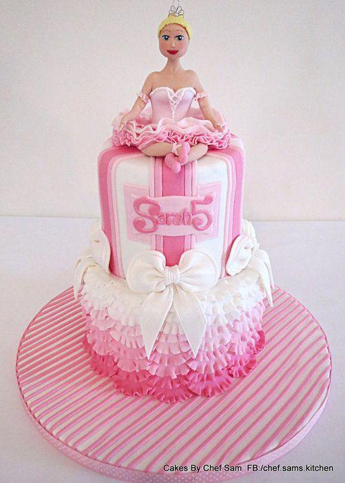 Princess ballerina by chefsam cake for Ballerina cake decoration