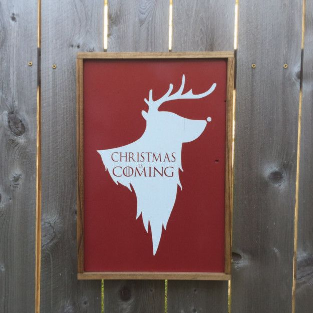 This clever holiday sign: