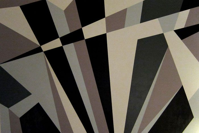 Dazzle Camouflage Painting by Kristian Goddard