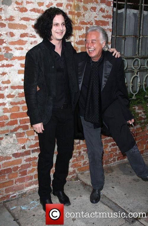 ♡♥Jimmy Page with Jack White♥♡