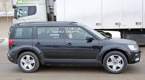 New Skoda SUV spied, could get 3 rows and 7 seats