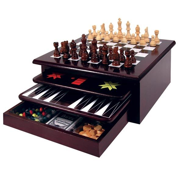 Winter has only just begun, so make sure you have plenty of games to play as it looks to be a very cold winter. For example our 15 in 1 game set. Chess, checkers, Old-Maid, Backgammon, Mancala, and much more are included in this wooden set.