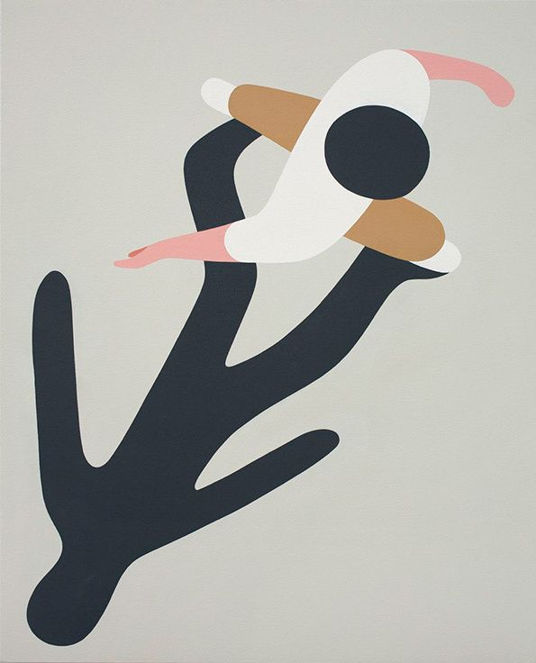 It's Nice That | Art: Astonishingly beautiful unseen paintings in a fantastic new show by the brilliant Geoff McFetridge