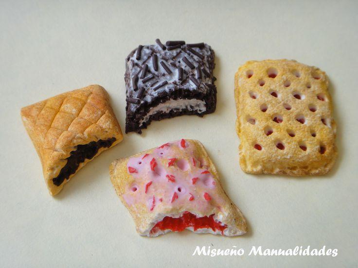 Pastelitos de Fimo, miniaturas. www.misuenyo.com / www.misuenyo.es