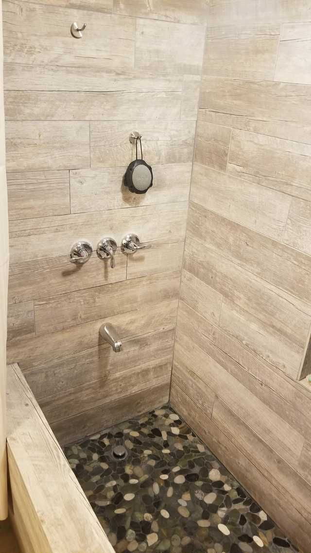Just Finished The Custom Shower Bathtub In My Apartment All