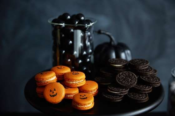Orange symbolizes harvest season. Black symbolizes death and the end of the Summer. - POPSUGAR Photography / Sheila Gim