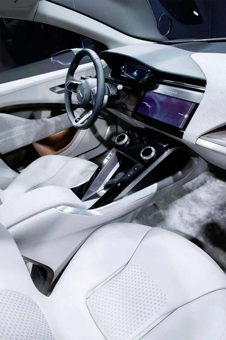 Luxusautos. Der Jaguar I-Pace ist derzeit der erste in dem, was bereit ist zu fi…