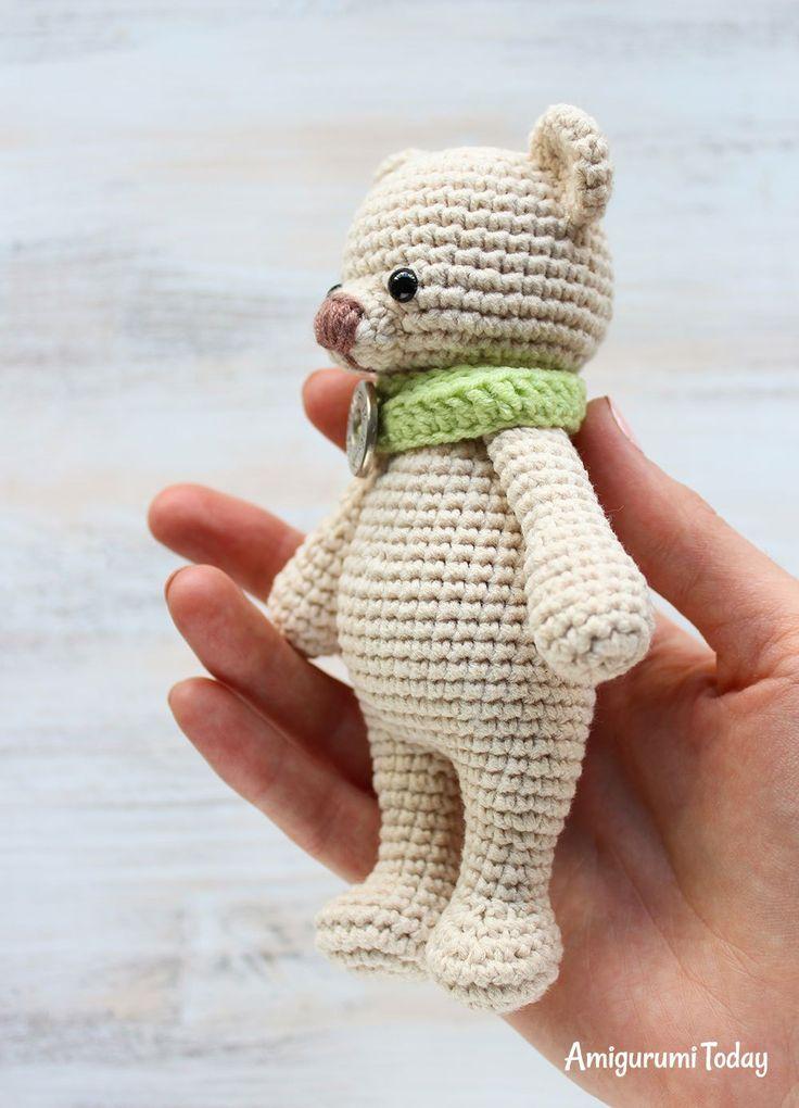 Cuddle Me Bear Crochet Pattern