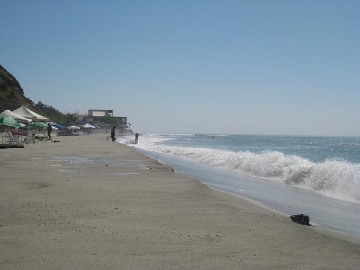 Otra playa en Punta Sal