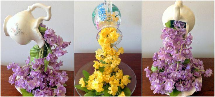 Haz flores flotantes con este truco casero muy fácil